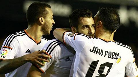 Valencia chỉ còn kém Top 3 vỏn vẹn 1 điểm