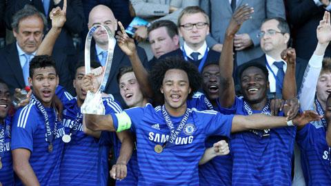 U19 Chelsea vừa vô địch giải trẻ châu Âu