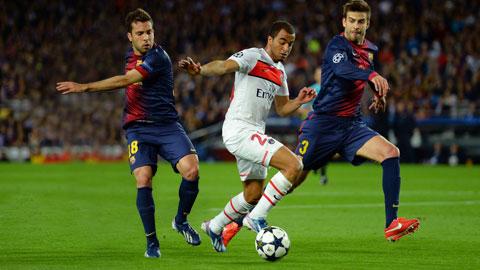 Đang có phong độ cực cao cùng lợi thế sân nhà, PSG (giữa) đủ sức đánh bại Barca