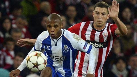 Porto đang thăng hoa nhờ phong độ chói sáng của Brahimi (trái)