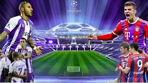 Dù đá sân khách nhưng với chất lượng đội hình vượt trội, Bayern vẫn sẽ có chiến thắng