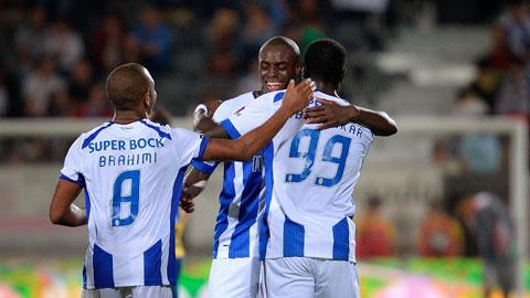 Liệu những cầu thủ vô danh của Porto như như Brahimi (trái) sẽ tỏa sáng?