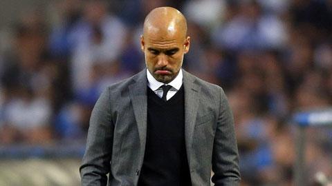 Nỗ thất vọng của HLV Guardiola sau trận Bayern để thua Porto 1-3