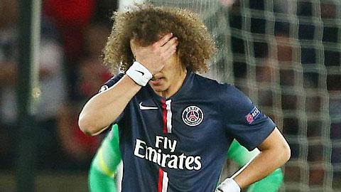 David Luiz khiến các CĐV PSG thất vọng toàn tập
