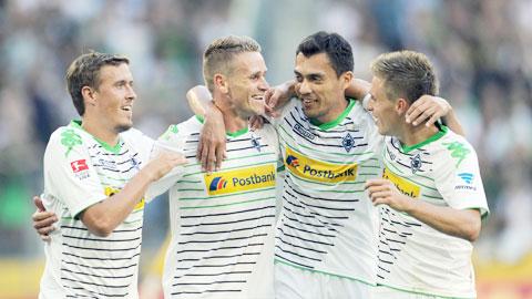 M'gladbach sẽ giành chiến thắng để củng cố vị trí thứ 3 tại Bundesliga