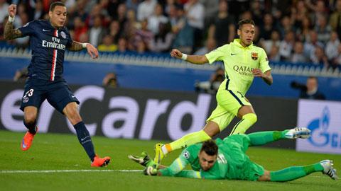 Tình huống Neymar băng xuống mở tỷ số trận đấu