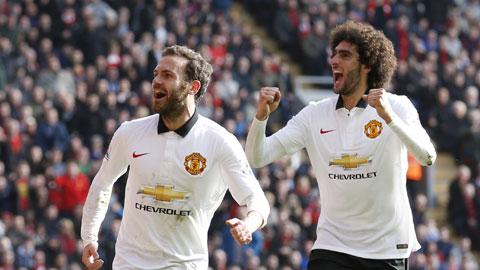 Khi bị Mourinho đẩy đi, Mata đã khẳng định được tài năng tại M.U