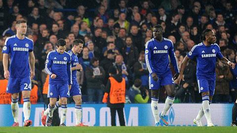 Chelsea mới bị PSG đá văng khỏi Champions League
