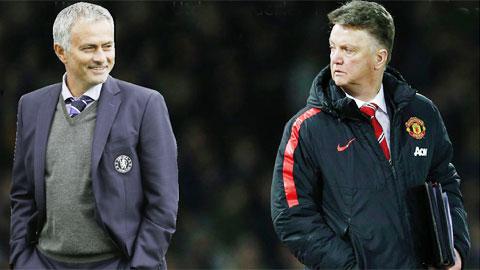Đêm nay, thầy trò Van Gaal – Mourinho sẽ có cuộc tái ngộ để thi thố tài năng