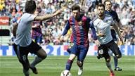 Barcelona 2-0 Valencia :Chiến Thắng nhọc nhằn
