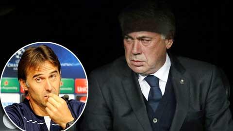 Real nhắm Lopetegui để thay Ancelotti