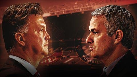 HLV Mourinho vs HLV Van Gaal