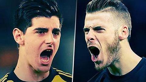 Courtois và De Gea, ai sẽ hưởng niềm vui chiến thắng?