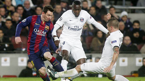 Verratti rất thích lối chơi của Messi