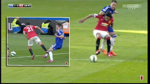 Chuyên gia Sky Sports cho rằng Terry đã phạm lỗi rõ ràng