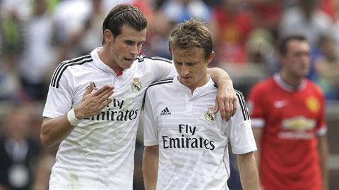 Bale và Modric mang tin dữ cho NHM Real