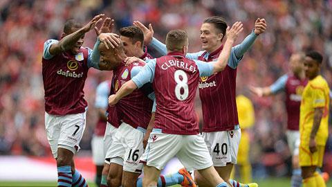 Aston Villa lội ngược dòng thành công trước Liverpool