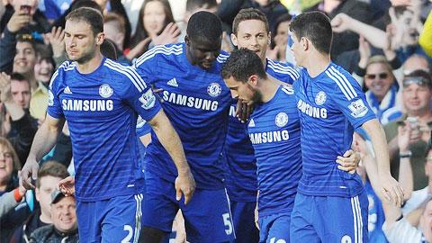 Chelsea đã ở rất gần chức vô địch