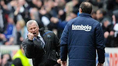 Pardew đã giúp Crystal Palace vượt khó ngoạn mục