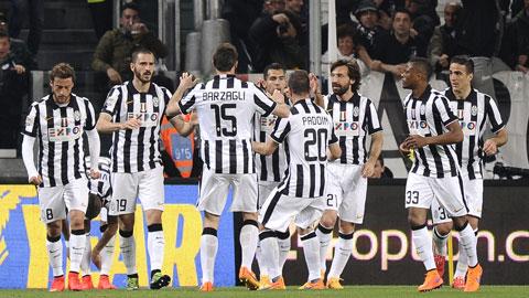 Juve nhẹ nhàng đánh bại Lazio