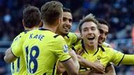 Newcastle 1-3 Tottenham: Giản hạn