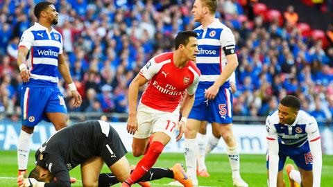 Sanchez giúp Arsenal trở thành CLB được dự nhiều trận chung kết FA Cup nhất (19 lần)
