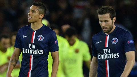 Trước Barca, cơ hội để PSG ngược dòng thành công là rất thấp