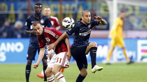 Milan và Inter chia điểm trong trận derby thiếu những màn trình diễn đỉnh cao