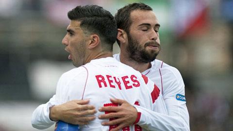 Sevilla lỡ cơ hội vượt mặt Valencia