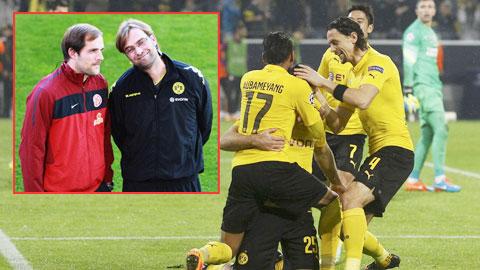 Sự tương đồng trong phong cách huấn luyện của HLV Tuchel và Klopp là cơ sở để Dortmund hy vọng vào thành công