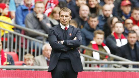 Liverpool dưới thời HLV Rodgers thường gục ngã ở những thời khắc quan trọng