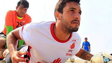 Rafael Lima trong một buổi tập