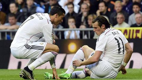 Bale dính chấn thương trong trận đấu với Malaga