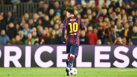 Messi dẫn đầu về tạo cơ hội tại Champions League mùa này