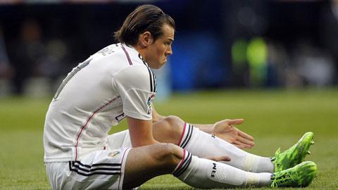 Bale đang dính chấn thương gân khoeo