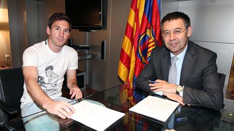Messi còn muốn ở lại CLB xứ Catalan?