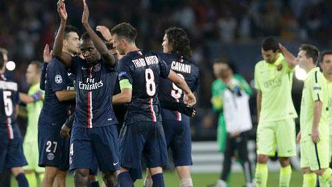 PSG có thể lách qua khe cửa hẹp để đi tiếp ở Champions League 2014/15?