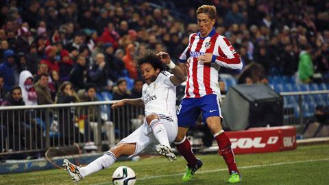 Fernando Torres luôn biết cách tỏa sáng khi gặp Real