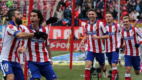 Atletico có nhiều lý do để lạc quan trong lần tái ngộ Real đêm nay