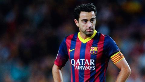 Xavi lập kỷ lục ra sân tại Champions League
