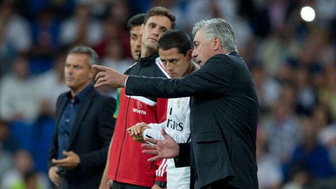 Chicharito ghi bàn thắng duy nhất giúp Real đánh bại Atletico