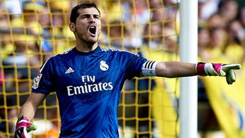 Casillas đã có 50 trận giữ sạch lưới ở Champions League