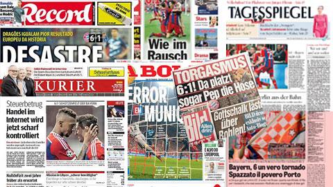 Báo chí giành những lời có cánh cho chiến thắng của Bayern