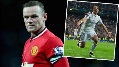 Rooney ấn tượng với cách Chicharito tỏa sáng ở Real