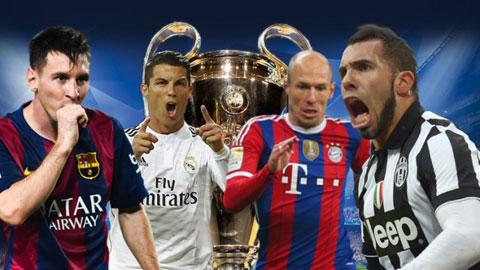 Bán kết Champions League mùa này hứa hẹn sẽ rất hấp dẫn