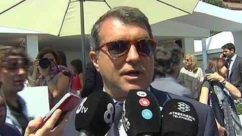 Cựu chủ tịch Barca, Joan Laporta