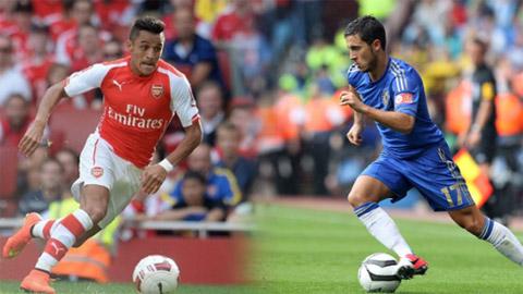 Sanchez hay Hazard sẽ tỏa sáng trong trận cầu đinh cuối tuần này?