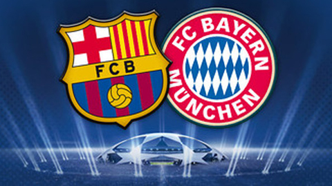 Barca và Bayern Munich sẽ lại đối đầu nhau tại bán kết Champions League năm nay.