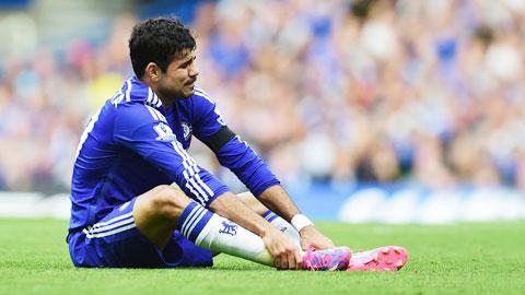 Hiện tại, cả ba tiền đạo của Chelsea là Costa, Drogba và Remy đều đang chấn thương