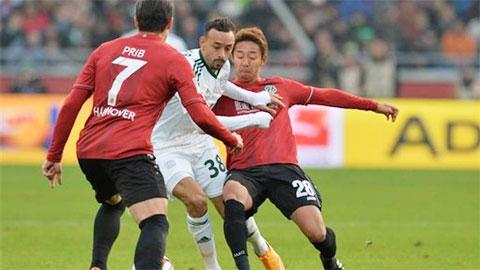20h30 ngày 25/4: Hannover vs Hoffenheim